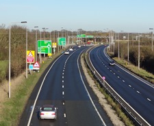 A64 at Stockton on the Forest and Hopgrove